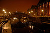 Snowy Night Frederick : Snowy Night in Downtown Frederick Maryland